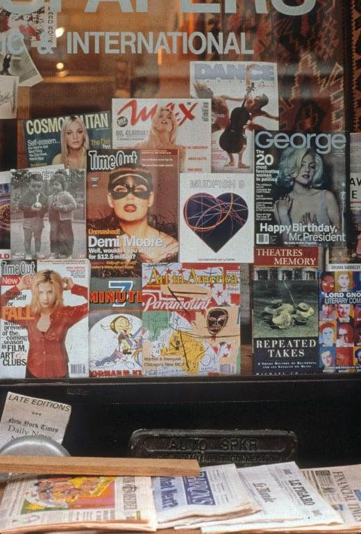 Clifford Singer, Fred's Window, 1996©, Tribeca, NY,<br>Photograph: Clifford Singer © 1996
