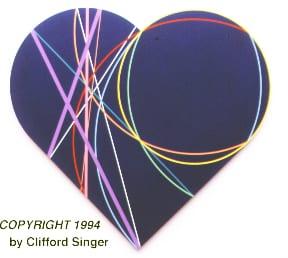 HEART3 before Jeff Koons